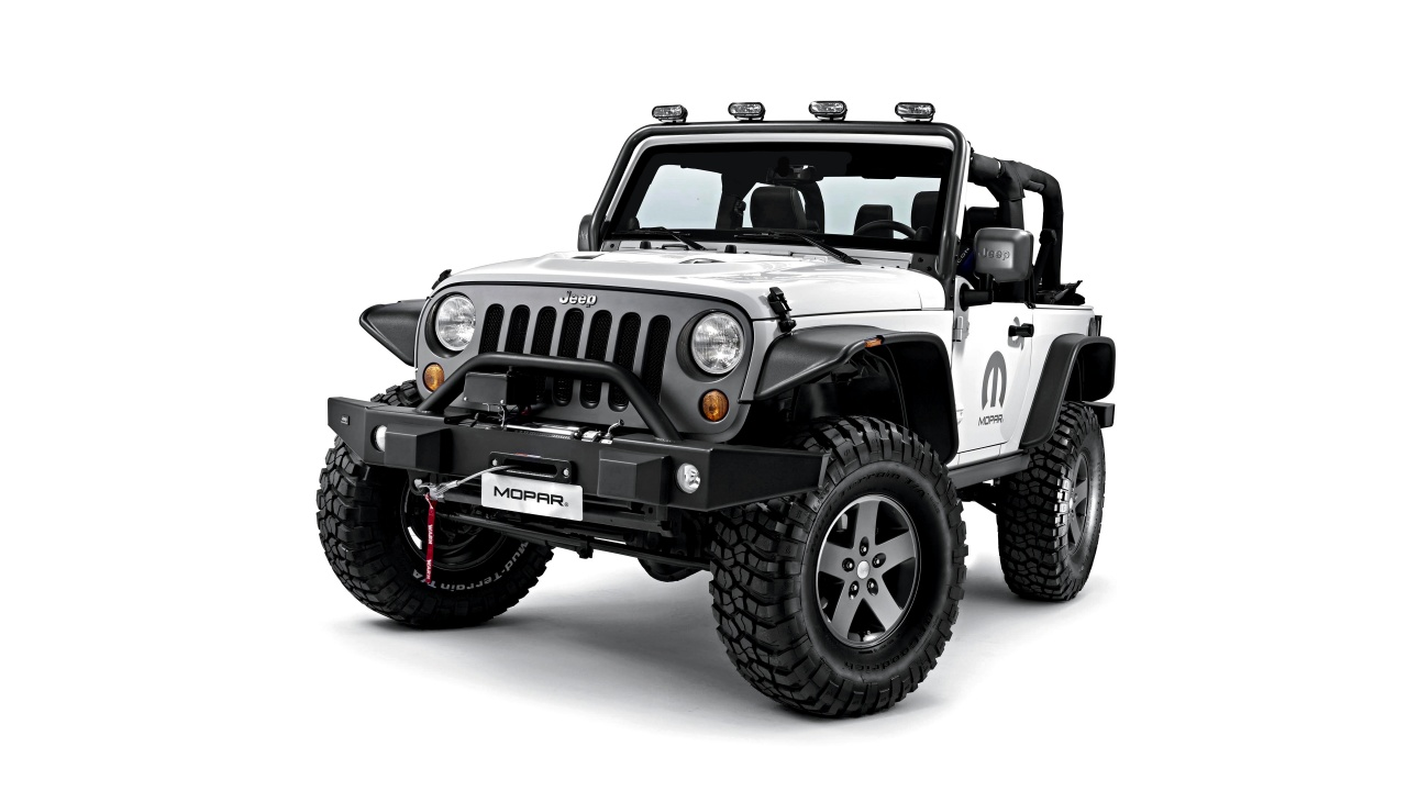 Jeep Wrangler Unlimited Mopar