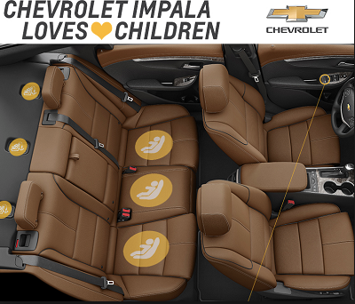 Chevy Keeps Families in Mind with 2015 Impala & Colorado