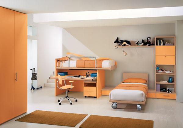 Bonetti camerette bonetti bedrooms camerette doppie - Camerette piccoli spazi ...