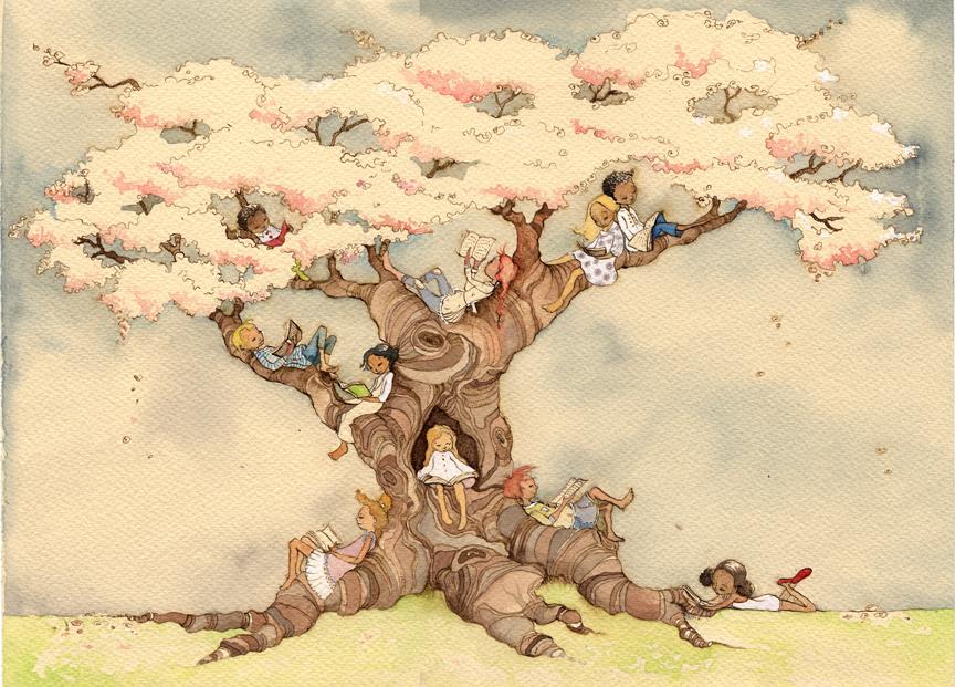 PolkadotStripes: The Reading Tree