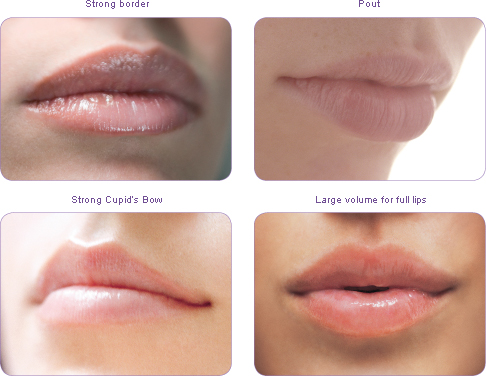 Change the Shape of Your Lips with Makeup