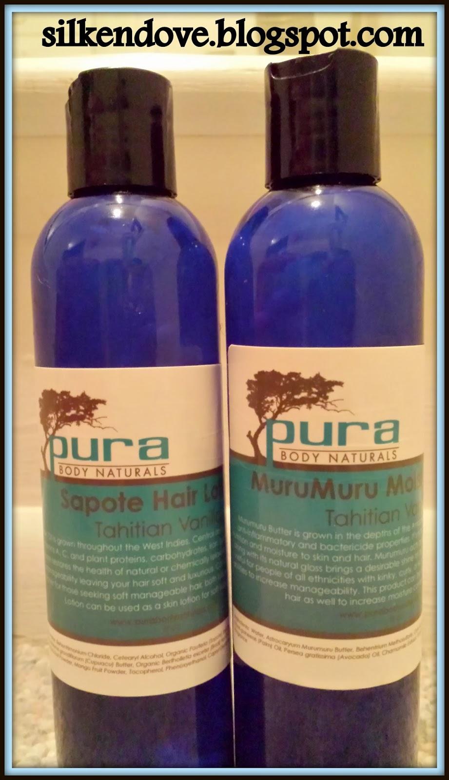 Pura Body Naturals Hair Products