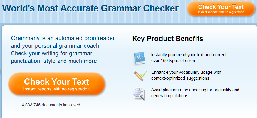 essay checkers online Various online essay checkers offer different services many of them are free and easy to use you just need to cut and paste the text you want proofread onto the site and check the services you need.