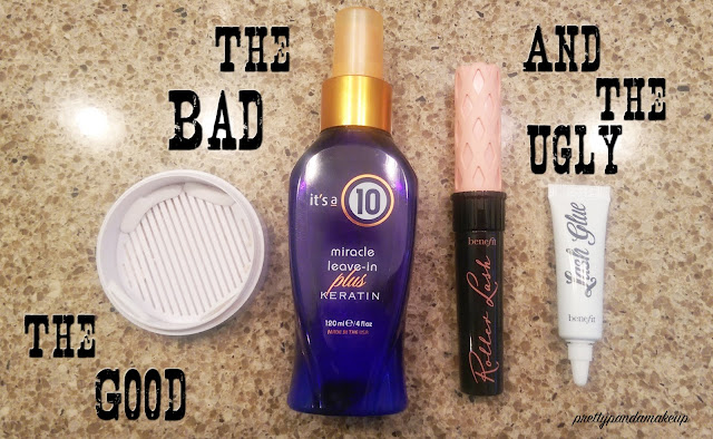 The Good the Bad and the Ugly August 2015 product review and empties