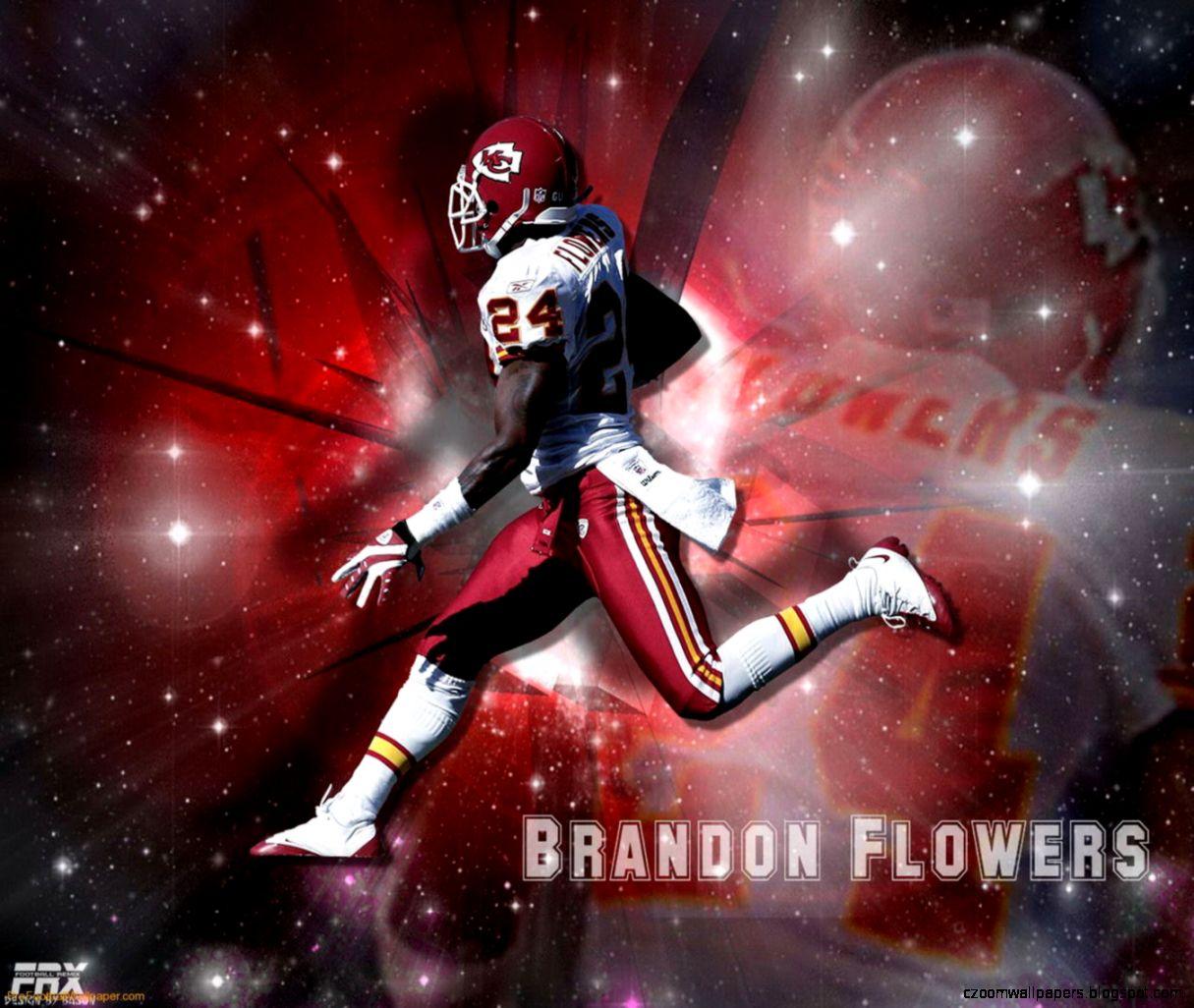 Download Brandon Flowers Kansas City Chiefs Player Wallpaper