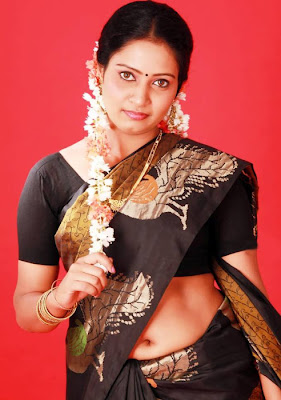 Actress Naisa Hot Saree Photos