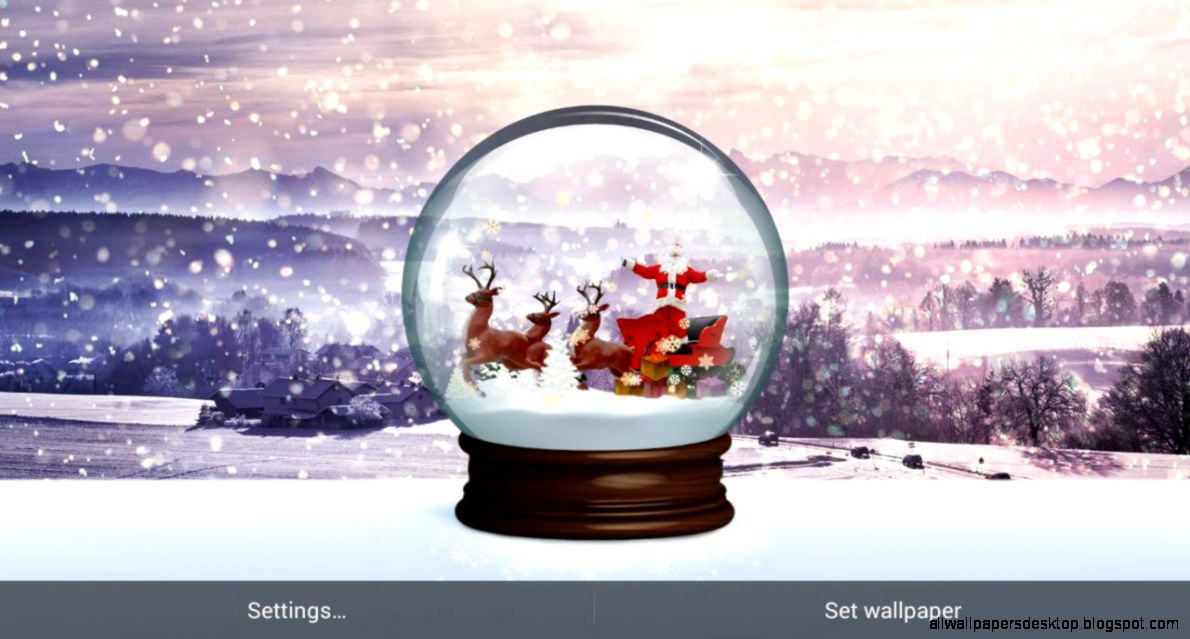 Snow Globe Live Wallpaper   Android Apps on Google Play