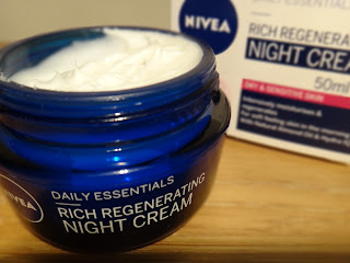 Supermarket must have skincare, Nivea, Nivea Rich Regenerating Night Cream, Nivea Daily Essentials