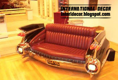 Interior Decor Idea: Cool leather Sofas in car form - Sofas car ...