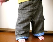 Herringbone Pants from Hugh Fielding