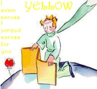 And it was called yellow.