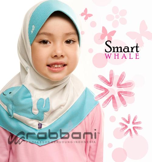 Al- Qolam Fashion: Kerudung Anak Rabbani