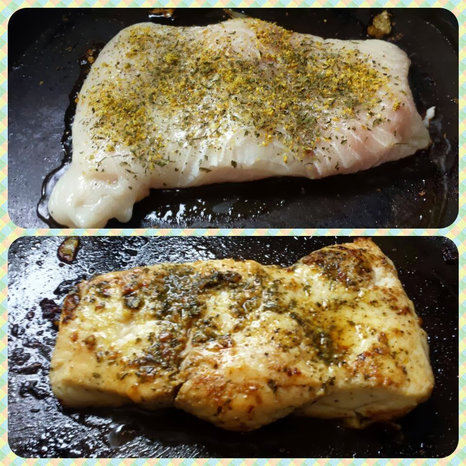badejo grelhado low carb hight fat