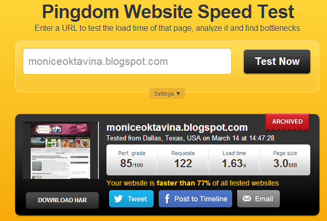 numion speed test