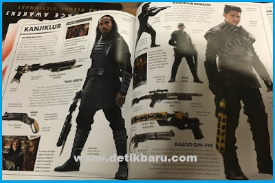 Foto Iko Uwais dan Yayan Ruhian Dalam Buku Star Wars: The Force Awakens: The Visual Dictionary