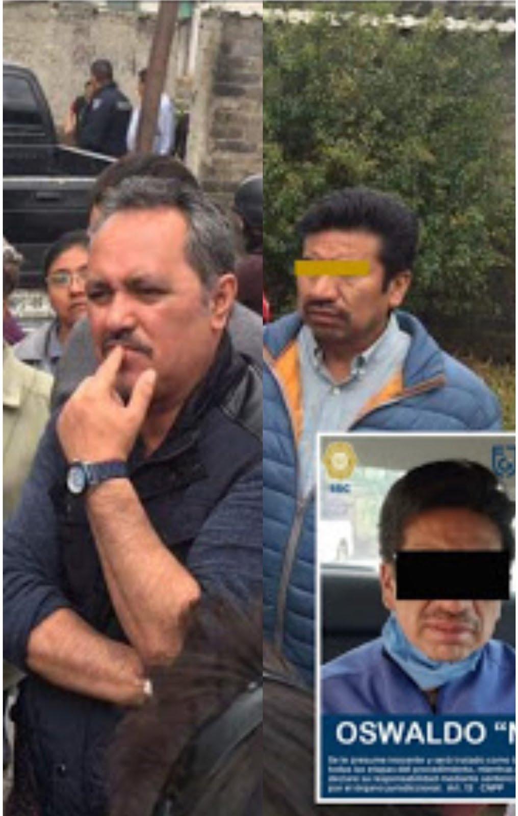 Operador de Rigoberto Salgado entre los detenidos ayer en Mixquic