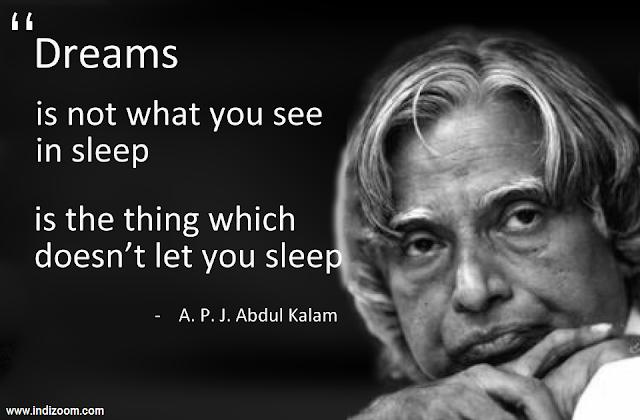 Quotes of APJ Abdul Kalam