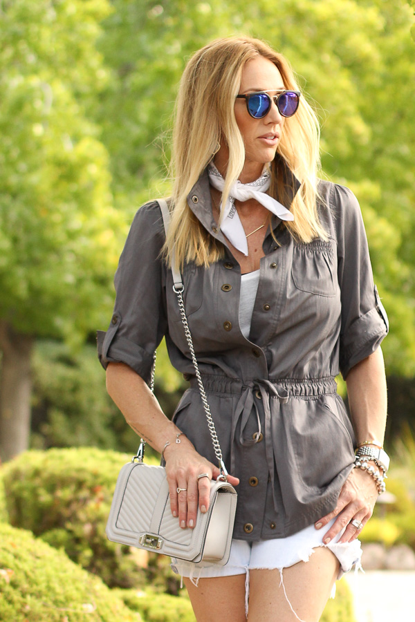 mirrired sunglasses bandana trend parlor girl