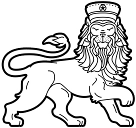 Picto : lion by Velop