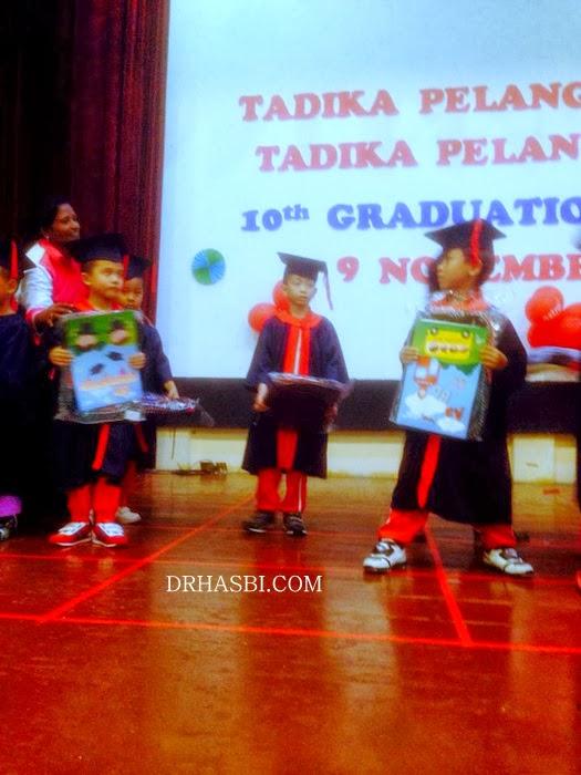 Majlis Graduation Tadika Pelangi Kreatif Aqil Haarith