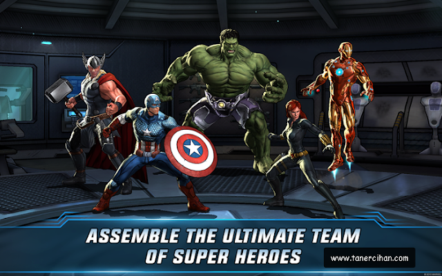 Marvel: Avengers Alliance 2 Full v1.0.1 APK + MOD Hileli İndir