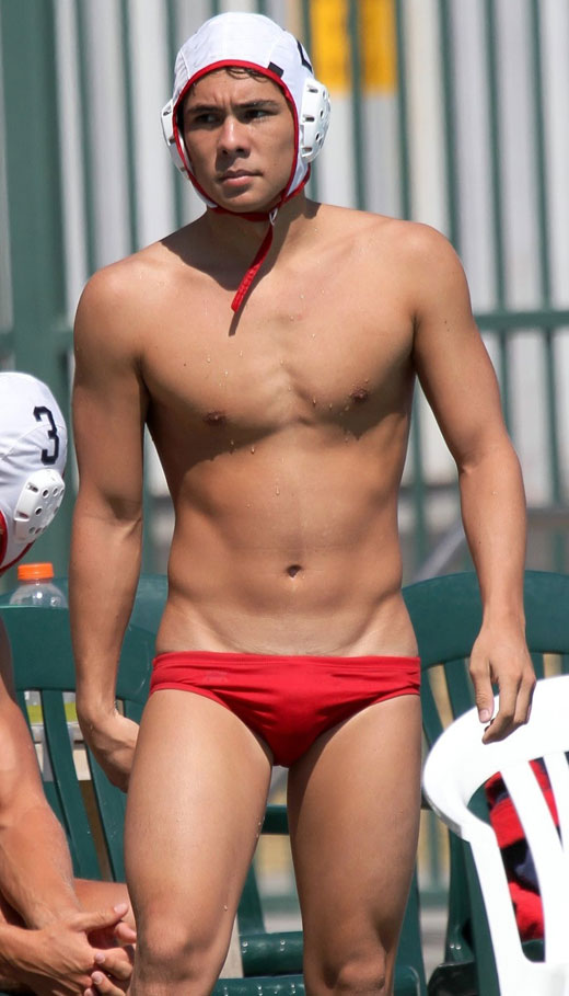 Gay man speedo
