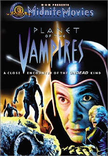 Planet of the Vampires DVD cover and Amazon link