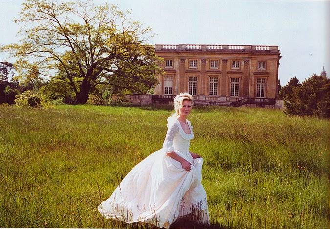 Kirsten Dunst en el Petit Trianon