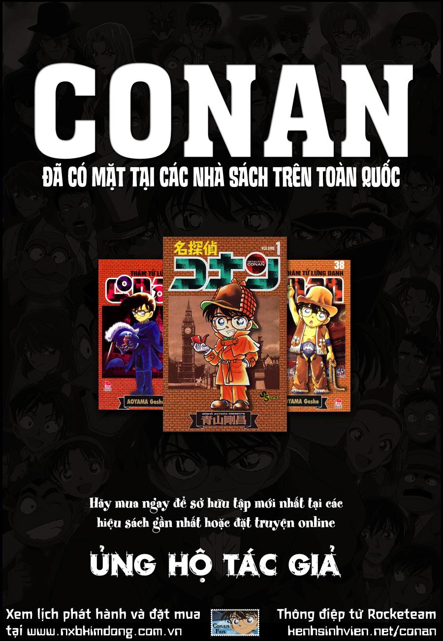 Thám Tử Lừng Danh Conan - Chapter 820 - Pic 19