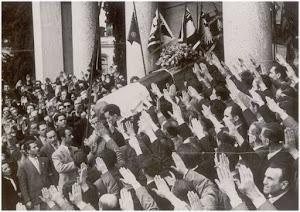 ROMA 8 APRILE 1949 I FUNERALI DI ACHILLE BILLI