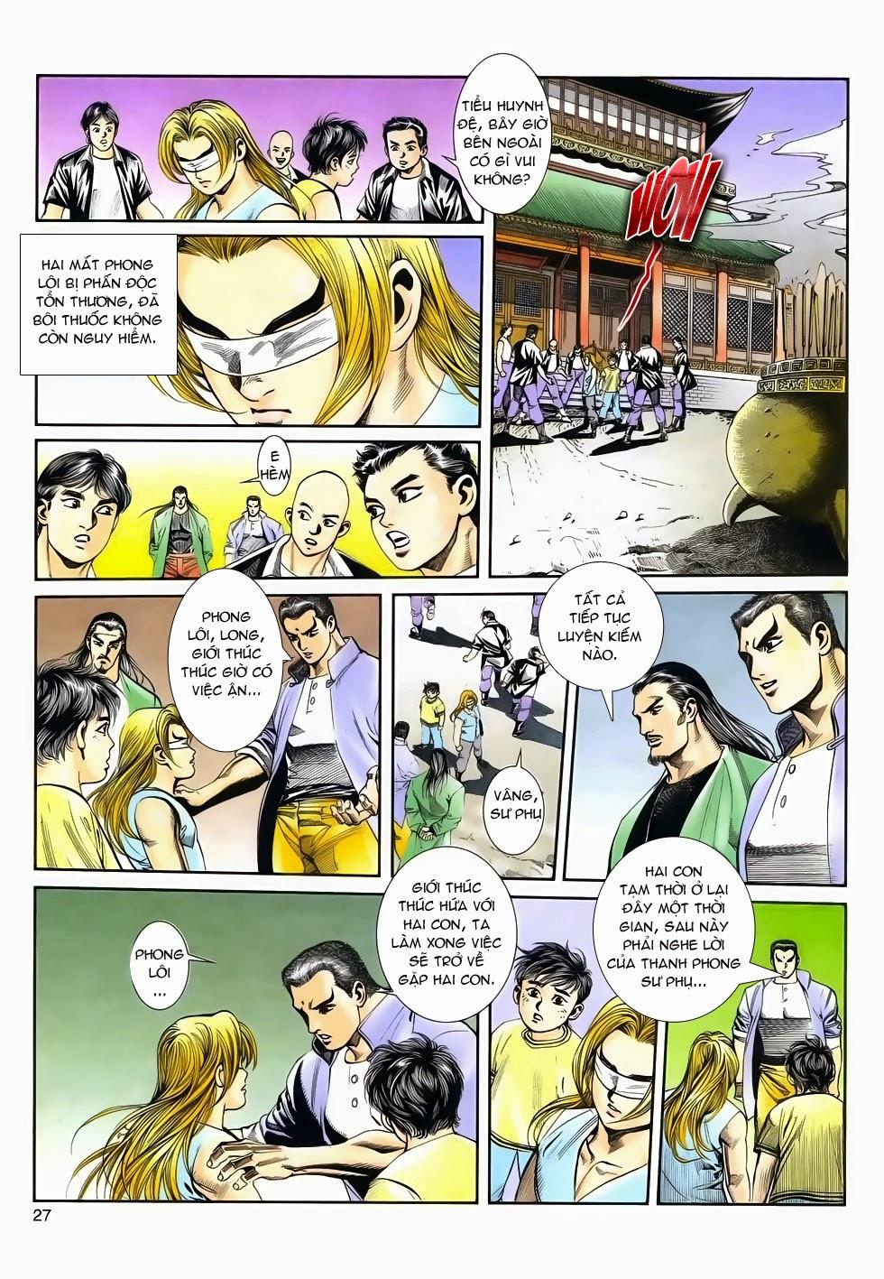 Long Hổ Phong Bạo chap 4 - Trang 26