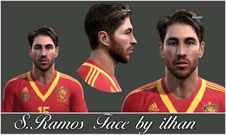 Sergio Ramos Face by Ilhan