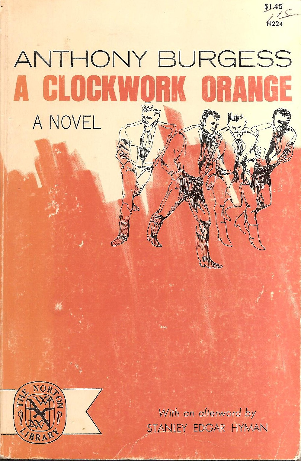 a clockwork orange by anthony burgess A clockwork orange has 489,896 ratings and 10,793 reviews martine said: a clockwork orange is one of those books which everyone has heard of but which f.