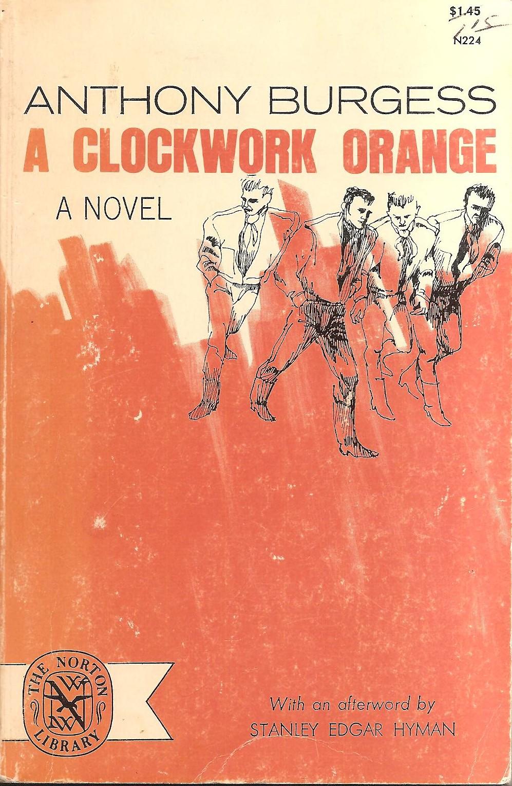 an essay on a clockwork orange by anthony burgess