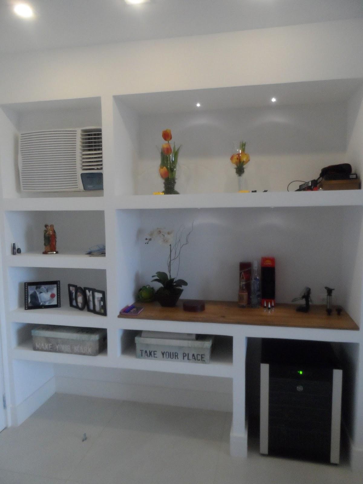 Estantes De Gesso Para Sala Fonte Freshome Como Separar Sala Em  -> Rack De Gesso Para Sala Pequena