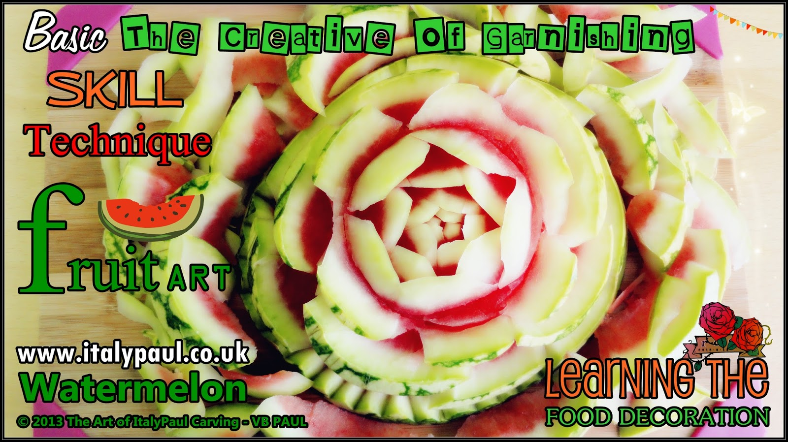 Italypaul art in fruit vegetable carving lessons incredible