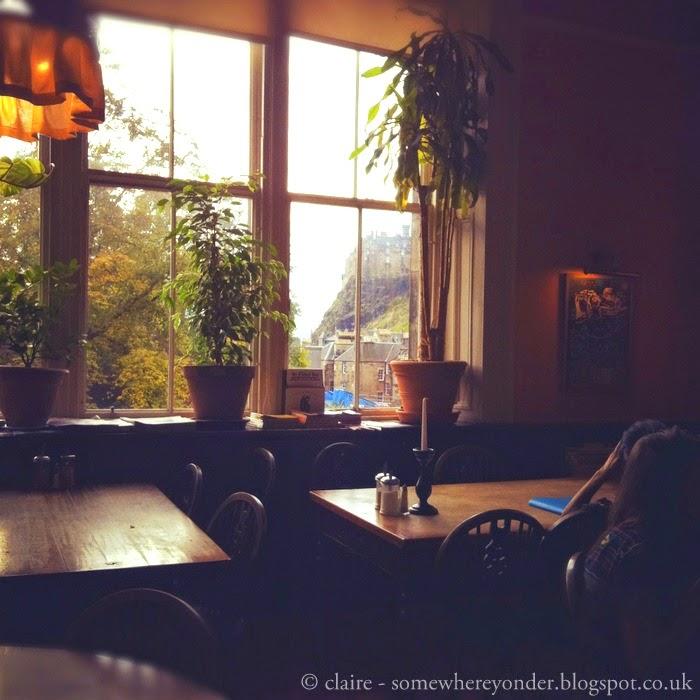 The Elephant House café in Edinburgh where J.K. Rowling wrote Harry Potter