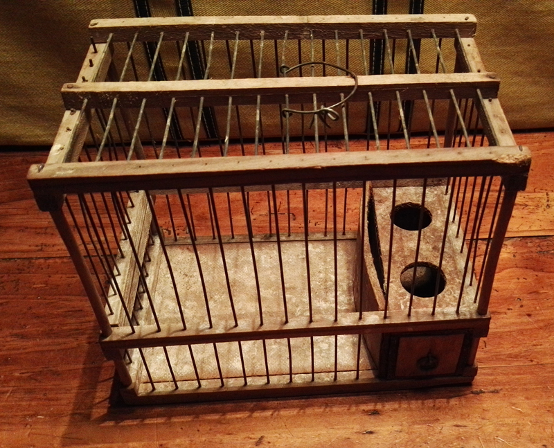 timbrado girona jaulas de madera antiguas