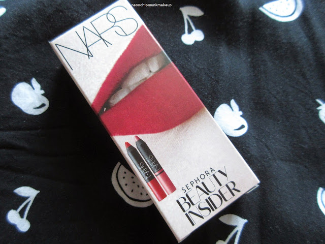 NARS Sephora Beauty Insider Birthday Gift
