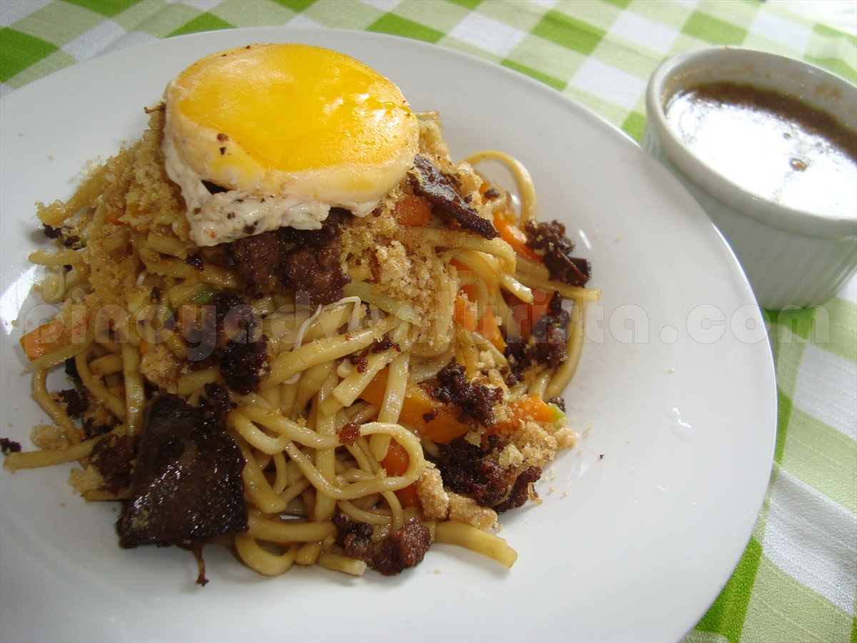 how to cook authentic pancit malabon