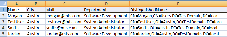 Powershell - Export AD Users Report to CSV File