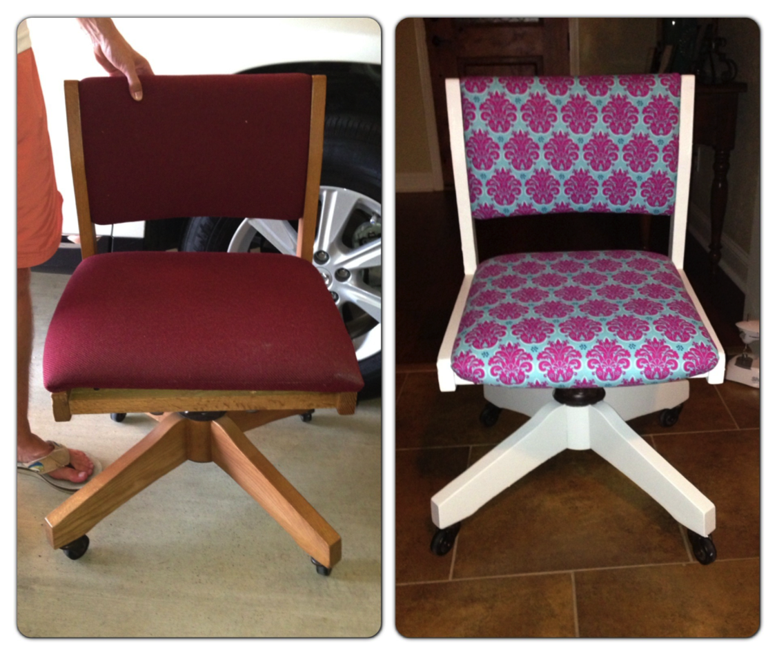 Your Teachers Aide Before And After Updated Desk Chair