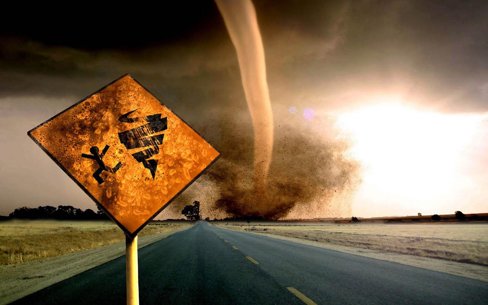 foto tornado: