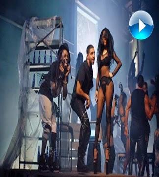 Nicki Minaj, Drake, Chris Brown e Lil Wayne Em Destaque