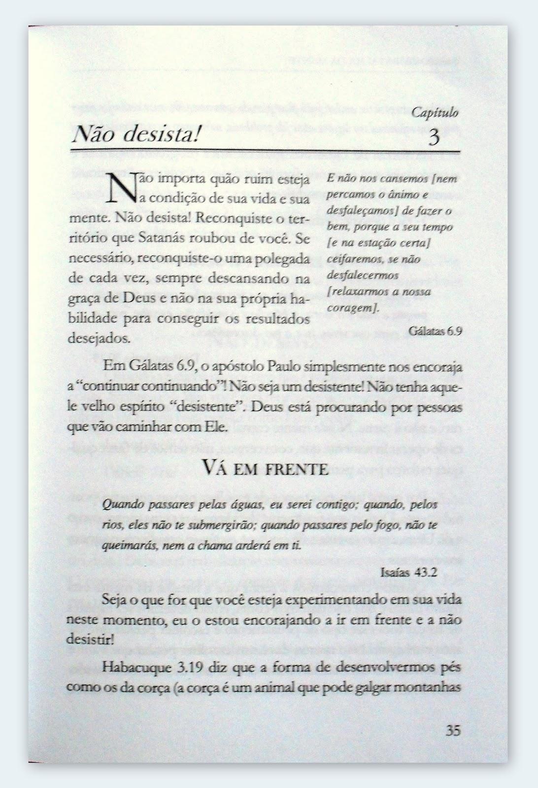 Retalhos De Leituras Campo De Batalha Da Mente Joyce Meyer