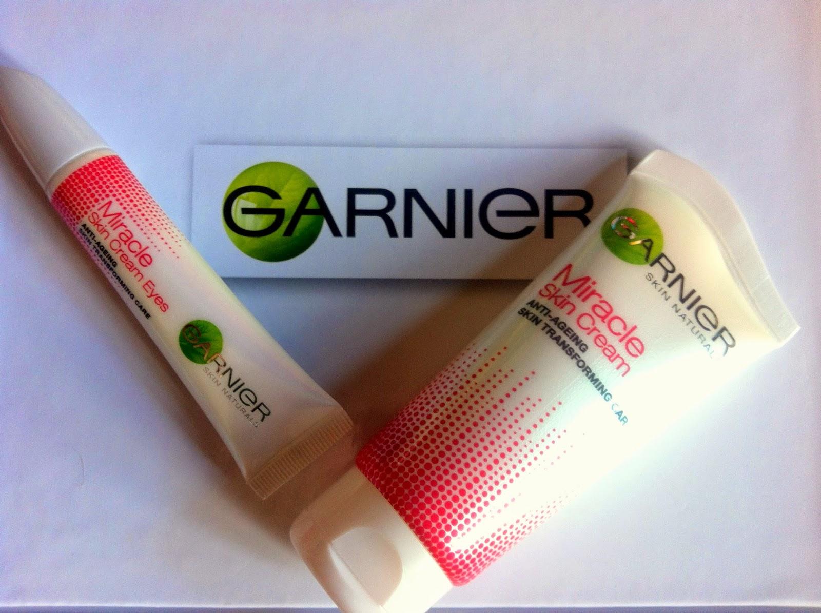 Garnier Miracle Skin Cream, occhi, occhiaie, crema anti età, review, opinione, inci