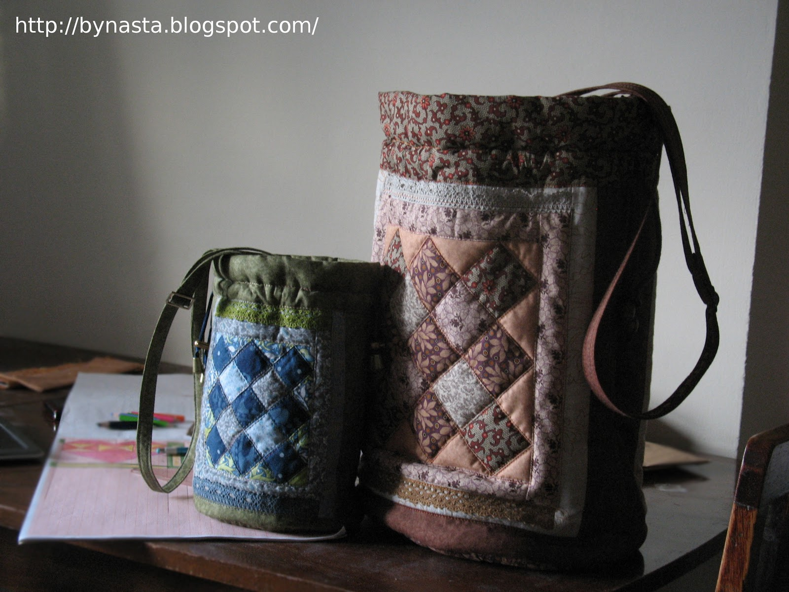 Мастер-класс сумок пэчворк - Пэчворк, лоскутное шитье, квилтинг для начинающих