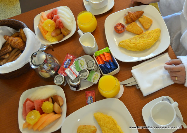 Breakfast in Adagio Fujairah