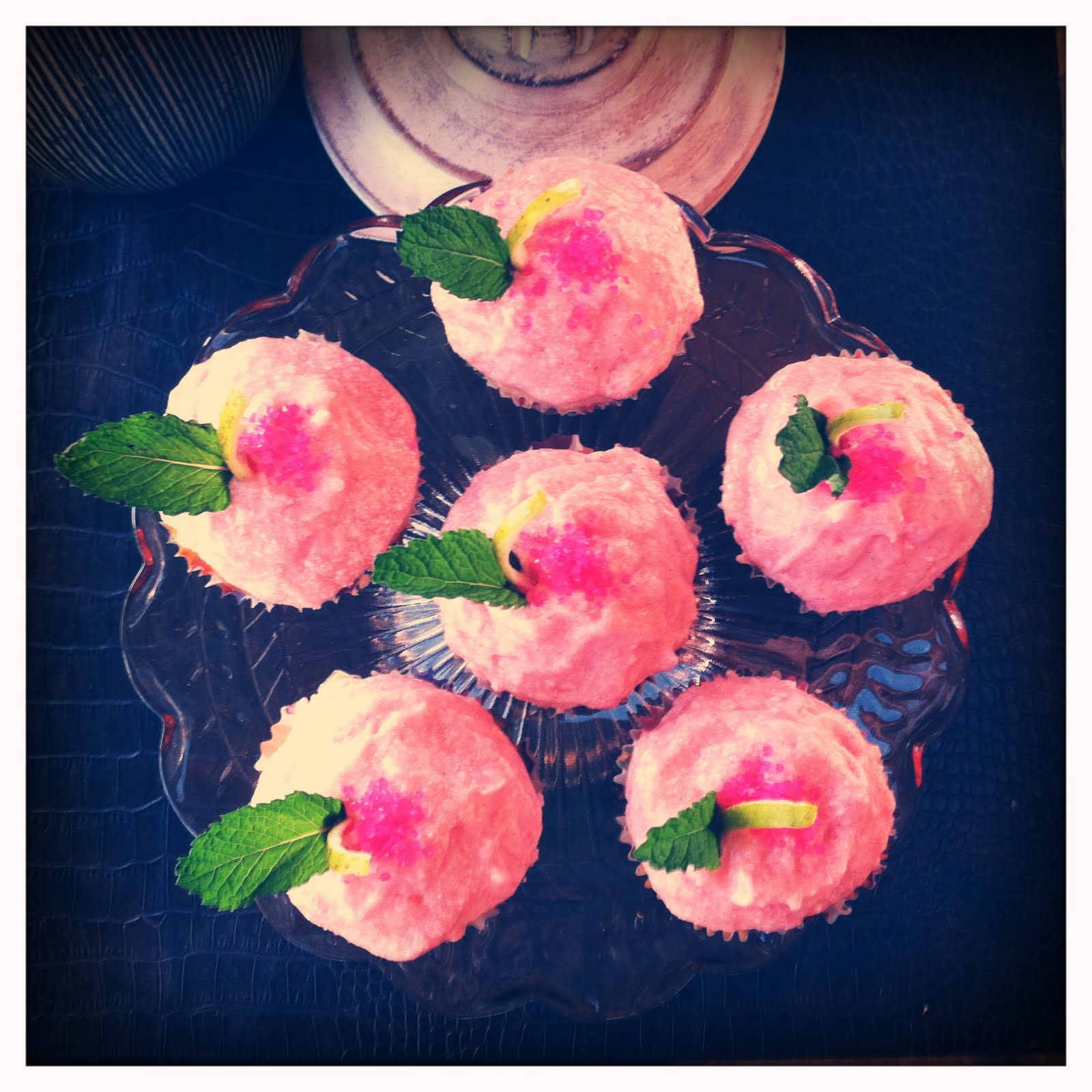 Pomegranate Mojito Cupcakes Recipes — Dishmaps