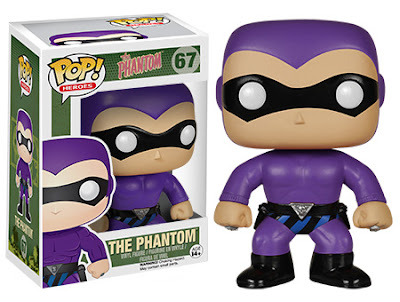 Lee Falk's The Phantom Pop! Heroes Vinyl Figure by Funko